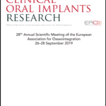 Clinical Oral Implants Research
